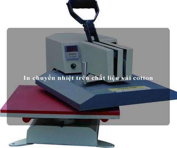 In chuyển nhiệt trên chất liệu vải cotton 3