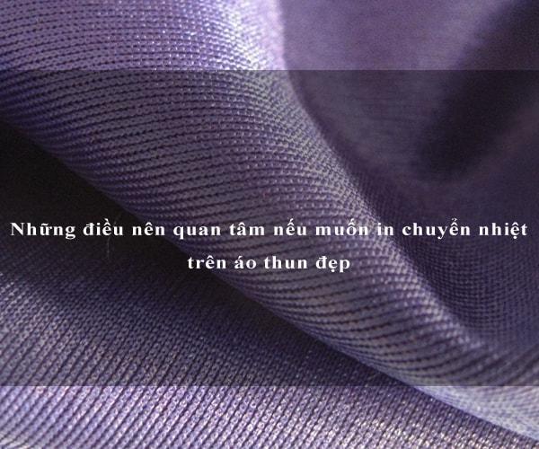 Những điều nên quan tâm nếu muốn in chuyển nhiệt trên áo thun đẹp 2