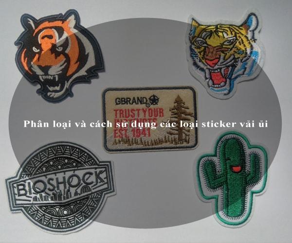 Phân loại và cách sử dụng các loại sticker vải ủi 2