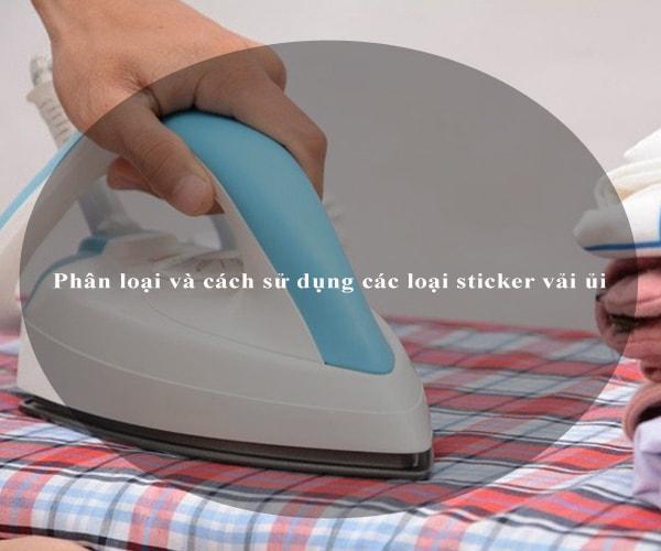 Phân loại và cách sử dụng các loại sticker vải ủi 4