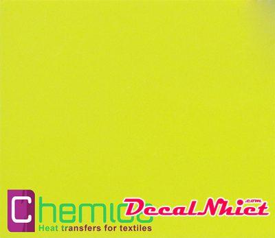 Decal nhiệt Pháp màu mi nơ vàng First Mark Fluo Yellow 111 (PVC)