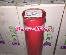 Decal nhiệt màu đỏ của Pháp First Mark Red 106 (PVC)