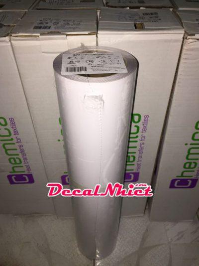 Decal nhiệt Pháp màu trắng chống nhiễm màu Hotmark Revolution White 301
