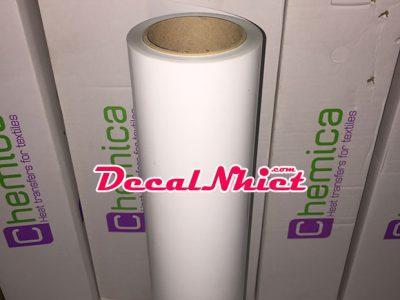 Decal nhiệt Pháp màu trắng First Mark White 101 (PVC)