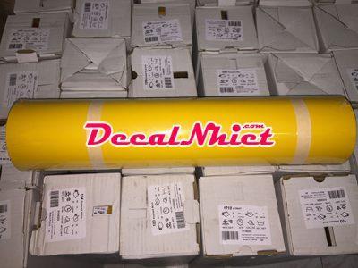 Decal nhiệt Pháp màu vàng First Mark Yellow 104 (PVC)