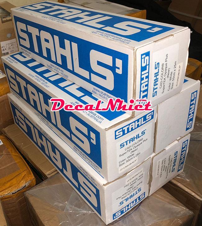 Decal chuyển nhiệt Mỹ Stahls có sẵn tại Decalnhiet.com