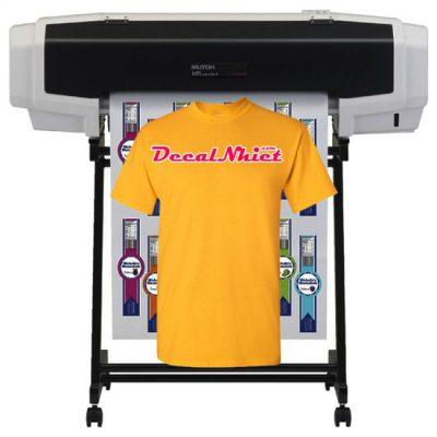 In decal chuyển nhiệt ép áo lấy ngay giá rẻ bằng máy in decal nhiệt Mutoh Nhật
